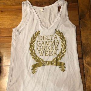 Tops - Delta gamma Greek shirt